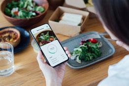 Las ventajas de registrar los hábitos de comida y ejercicio