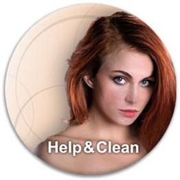 "Kosmetik Behandlung ""Help & Clean"""