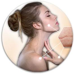 Narbenbehandlung im Gesicht und am Körper