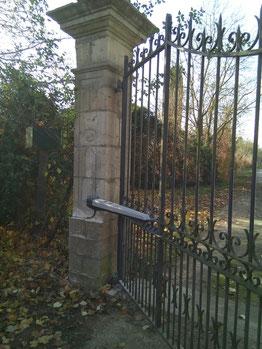 motorisation de portail en fer forgé