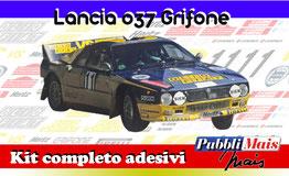 LANCIA RALLY 037 GRIFONE OLIO FIAT