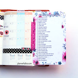 free printable 28 couples date ideas to do en february for b6 slim planners