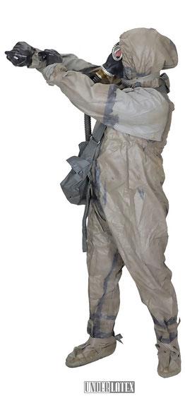 Schutzanzug SBA 1 der NVA einteilig gummiert