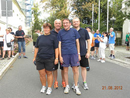 Die Möven von links: Andrea Reinicke, Wolfgang Müller, Michael Reinicke, Florian Stark