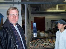 Uwe Lorenz (li.) und Nino Einbeck