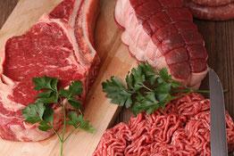 Auf dem Bild sieht man das herrliche Rindfleisch