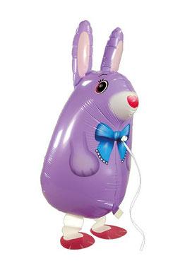 Airwalker Ballon Luftballon Folienballon Heliumballon Hase Osterhase Bunny Helium Versand Geschenk Ostern Überraschung Ballonbox Ballongruß Box Ballonversand verschicken Freunde Familie Verwandte Mitbringsel Geschenk Deko Mädchen Junge