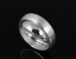 Drehring aus Silber