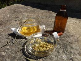 Preparazione del fiore di Bach Olive