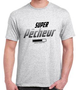 T-shirt papa pêcheur
