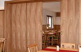 Innenausbau, Schiebetüren, Hotel-Gasthof Kramerwirt