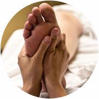 Reflexzonentherapie RZF   (Fußreflezonenmassage)