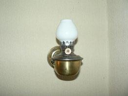 Lampe nach überarbeitung und originalen Schirm