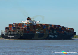 Containerschiff VANCOUVER EXPRESS