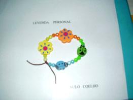 Pulsera infantil artesanal
