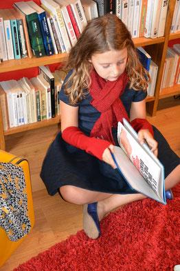 Echarpe enfant et manchette enfant laine fabrication française