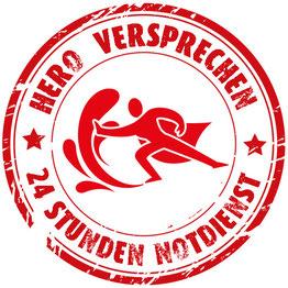 HERO Versprechen für Paderborn: 24h Wasserschaden Notdienst