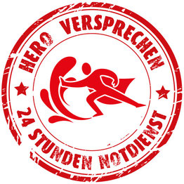 HERO Versprechen für Erfstadt: 24h Wasserschaden Notdienst