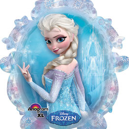 DECORATION ANNIVERSAIRE FILLE REINE DES NEIGES- FROZEN GIRL BIRTHDAY PARTY DECORATION