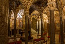 Cripta de la Basílica de Santa Cecilia, en Roma