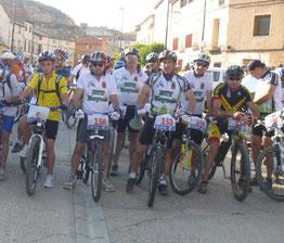 1ª Cicloturista Btt El Gallico de Moyuela 2011