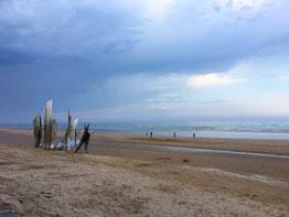 Omaha Beach spiagge dello sbarco in Normandia