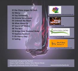 CD-Rückseite