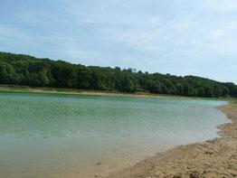Lake of Séméacq-Blachon (Vic-Bilh)