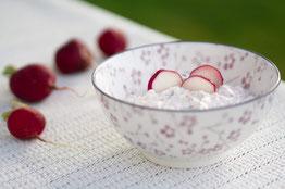 Radieschen-Kresse-Dip | proteinreich & schnell zubereitet