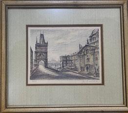 Artist Jan B. Melichar Limited Edition 32/50 $35.00