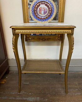 Gold and Marble Table $295.00