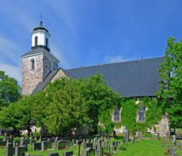 Kemiö Kirche. Foto P.Bagge