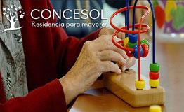 Terapia ocupacional Residencia Mayores Concesol