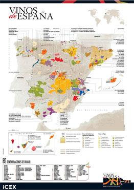 MAPA DOs DE ESPAÑA