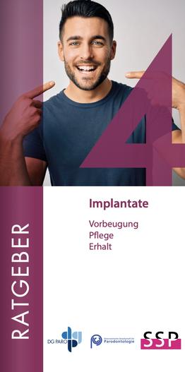 Broschürentitel Implantate