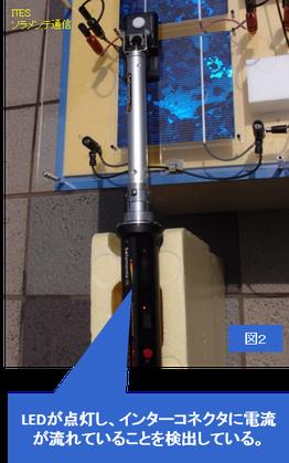 太陽光 パネル 点検 ツール ソラメンテ 技術 模型 目に見え 1