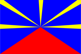 drapeau de la Réunion