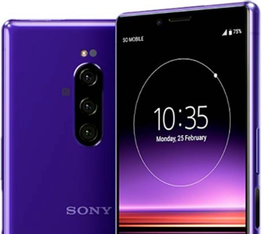 Sony Xperia 1 color violeta