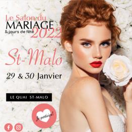 Salon du Mariage & jours de fête à Saint-Malo 29 et 30 Janvier 2022