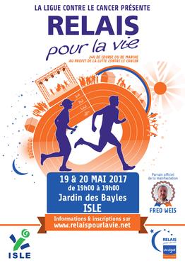 Le Relais pour la Vie 2017  (Ligue contre le Cancer)