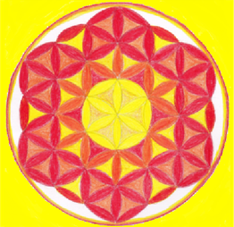 Blume des Lebens, Heilpraxis, Ganzheitliches Arbeiten, Körper, Geist, Seele, Energie, Gesundheit