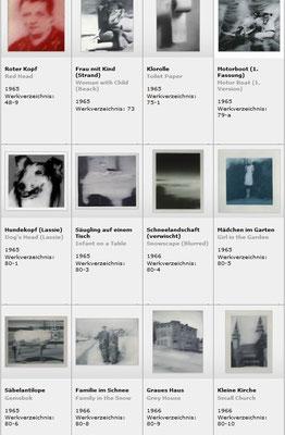 Werke aus den 60er Jahren