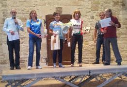 Un énième podium pour Christelle...