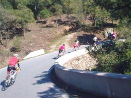La descente du col du Vignon