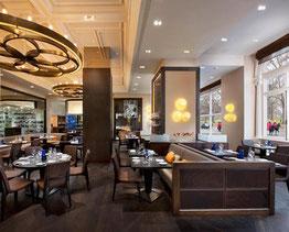 1位に選ばれたロンドンにあるマンダリン・オリエンタル・ホテルにある'Dinner by Heston Blumenthal ディナー・バイ・ヘストン・ブルメンタール' (www.diariodegastronomia.com)