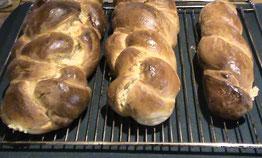 Freshly baked Plait (Zopf)