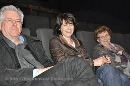Twan Huysmans, Monique Everaert en Oda Everaert