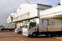 定期的に消防設備点検されてる新潟市江南区の食品加工工場「大阪屋 本社工場」さま