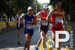 In einer Gruppe mit dem amtierenden Weltmeister (Foto: RaceWalk Pictures - Saskia Feige)