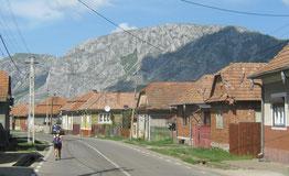weg naar Rimetea Roemenie